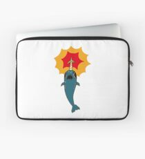 Pizza Narwhal Laptop Sleeve