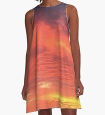 Sunset 3 A-Line Dress