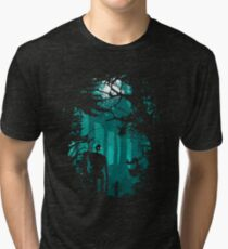 Looking at the stars Tri-blend T-Shirt