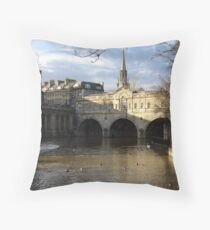Beautiful Bath Throw Pillow