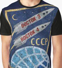 CCCP Boctok 3 & 4 1962 Graphic T-Shirt
