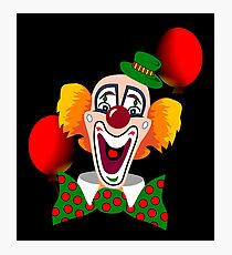 Clown Photographic Print