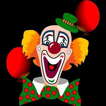 Clown by Czerra