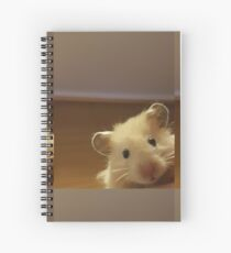 Hamster Hello Spiral Notebook