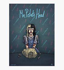Mrs. Potato Head Photographic Print
