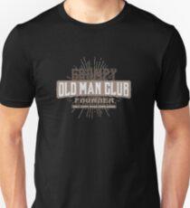 Grumpy Old Man Club - Complaining - Funny T-Shirt