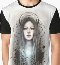 Artemis - acylic and ink painting Graphic T-Shirt