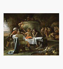 Jan Steen - Theseus And Achelous Photographic Print