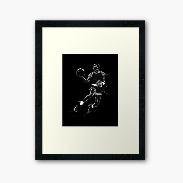 MJ Framed Art Print