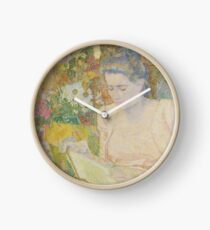 Jan Toorop - Portrait Of Marie Jeanette De Lange Clock
