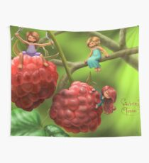 Raspberry Wall Tapestry
