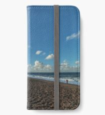 """Salthouse Beach"" iPhone Wallet"