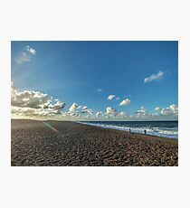 """Salthouse Beach"" Photographic Print"