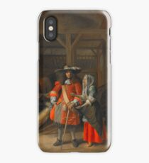 The Hostess and the Pirate iPhone Case