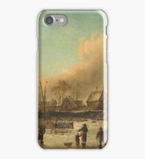 Jan Van De Cappelle - Winter Scene iPhone Case/Skin