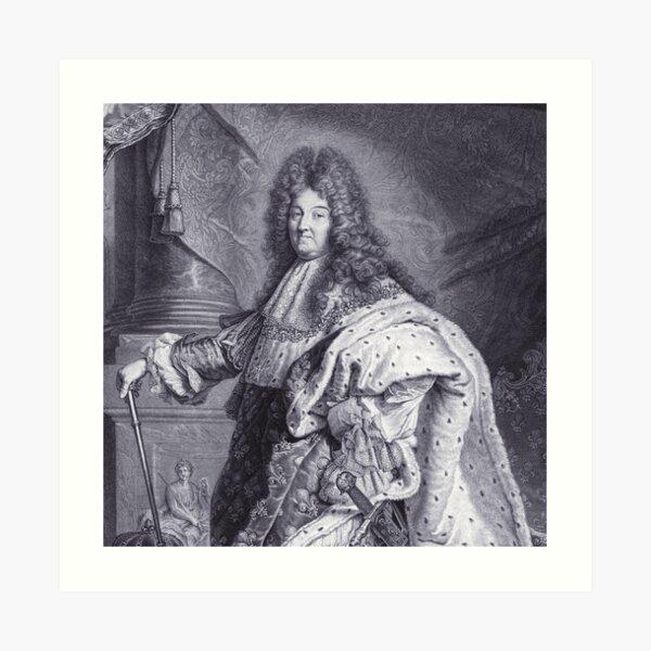 Louis XIV - The Sun King Art Print