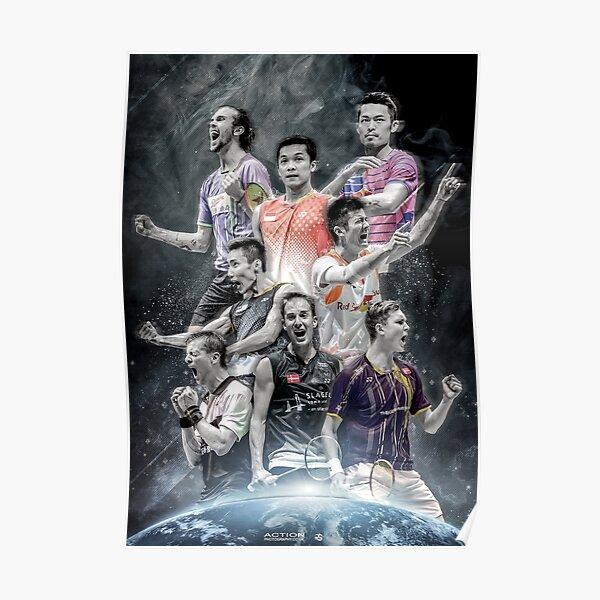 Badminton Legends Edit Poster