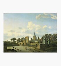 Jan Van Der Heyden - The Church Of St Severin In Cologne In An Imaginary Setting, 1672 Photographic Print