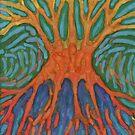 Jittery Tree  by Wojtek Kowalski