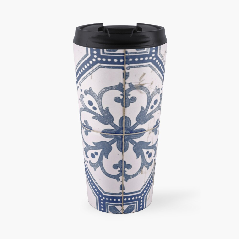 azulejos tiles Travel Mug