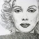 Marilyn Monroe by Kathie Nichols