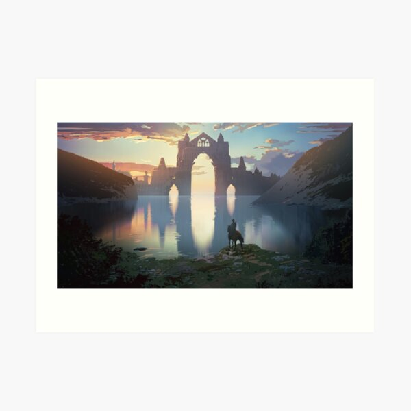 The Forgotten Empire Art Print