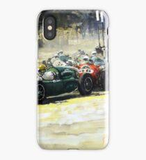 1959 Monaco GP  #24 Cooper Climax T51 Jack Brabham Winner  iPhone Case/Skin
