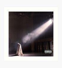 Kendrick Lamar - Humble Art Print