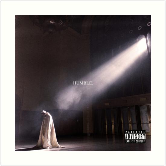 Kendrick Lamar Humble Art Print By Daanhffman