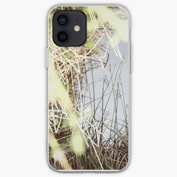 Reflection in the Weeds iPhone Soft Case