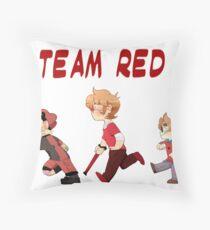 Team Red- Little Heros 1 Throw Pillow