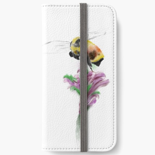 spring bee (transparent background) iPhone Wallet