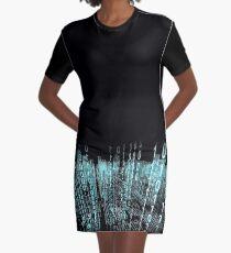 Binäre Matrix T-Shirt Kleid