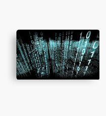 Binary Matrix  Canvas Print