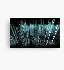 Binary Matrix  Canvas Print