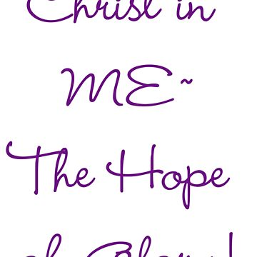 Christ in ME! by AngelaAngel