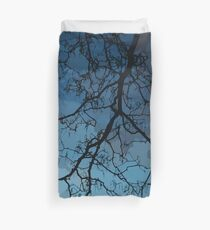 Bare Branches At Dusk Duvet Cover