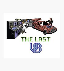 Gaming [C64] - The Last V8 Photographic Print