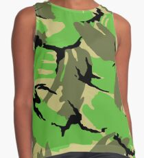 camouflage Contrast Tank