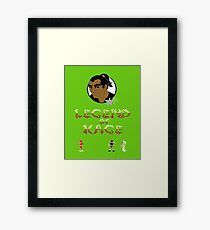 Gaming [C64] - Legend of Kage Framed Print