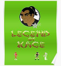 Gaming [C64] - Legend of Kage Poster