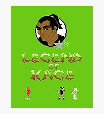 Gaming [C64] - Legend of Kage Photographic Print