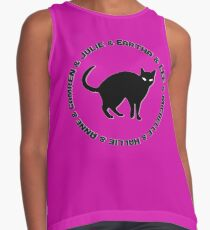Everybody wants to be a cat Contrast Tank