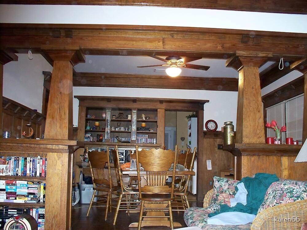 My Doorway beween the dining room and kitchen by karen66