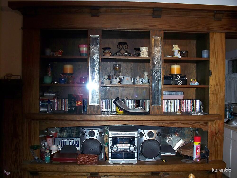 My Wooden Shelves by karen66