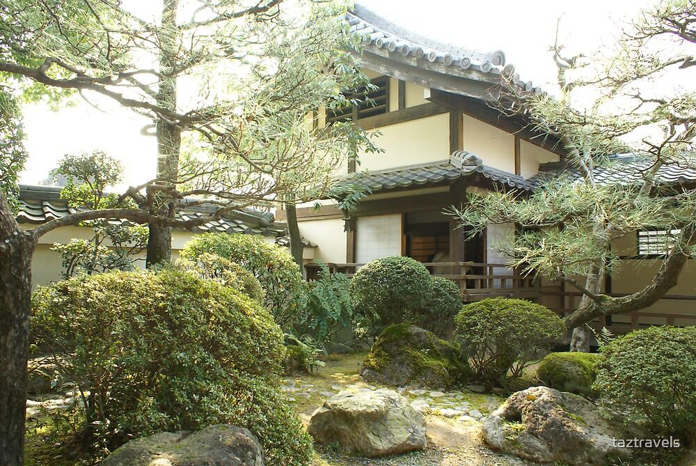 Japan Garden, Movie World by taztravels