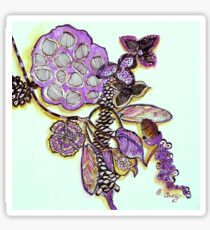 Lotus Pod, Seeds and Native Collection Sticker
