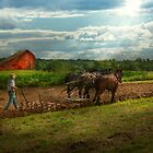 Country - Ringoes, NJ - Preparing for crops by Michael Savad
