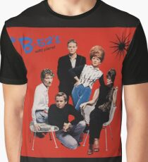 wILD pLANET tHE b-52'S Graphic T-Shirt