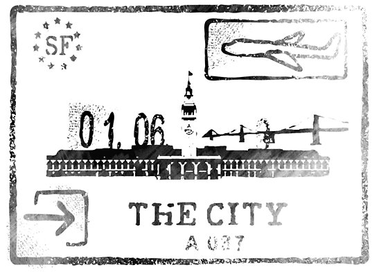 San Francisco Passport by KnuckleTonic